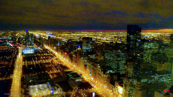 Photograph - Mag Mile Looking South, Chicago Illinois by Rich Ackerman