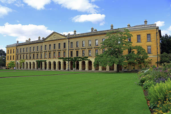 Photograph - Magdalen New Building by Tony Murtagh