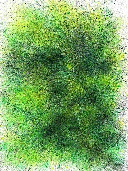 Brain Cell Painting - Magellanic Clouds #459 by Rainbow Artist Orlando L