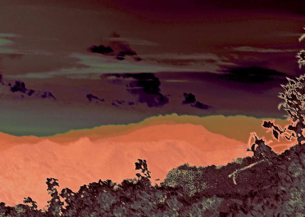 Photograph - Magellan's Final Twilight 2016 by James Warren