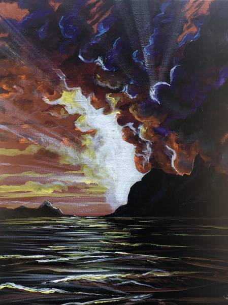 Painting - Magestic by Joel Tesch