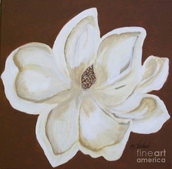 Full Bloom Painting - Maggie Magnolia by Marsha Heiken