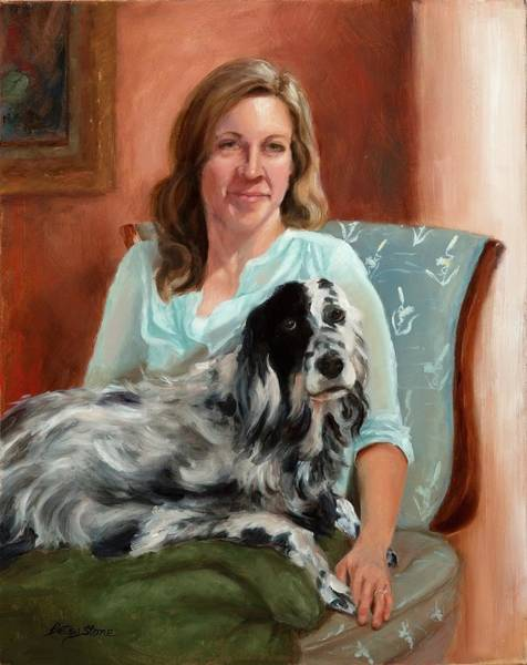 Painting - Maggie's Moment by Alice Betsy Stone