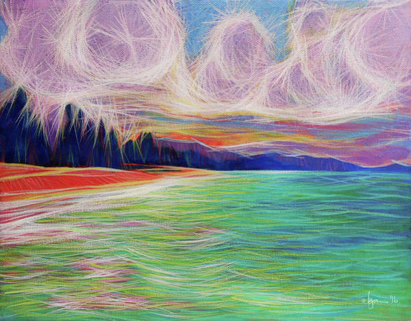 Painting - Magic Beach by Angela Treat Lyon