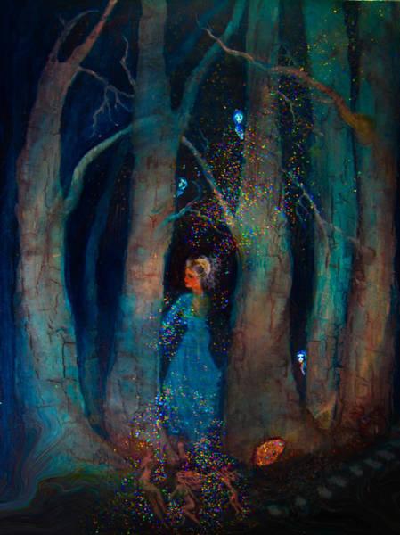 Magic Birch Trees Art Print by Patricia Motley