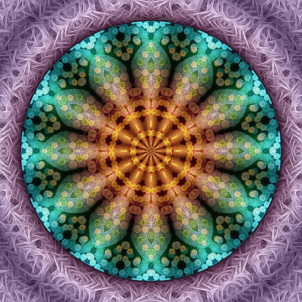 Digital Art - Magic Carpet Flower by Becky Titus