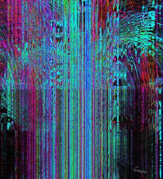 Harp Mixed Media - Magic Fountain by Fania Simon