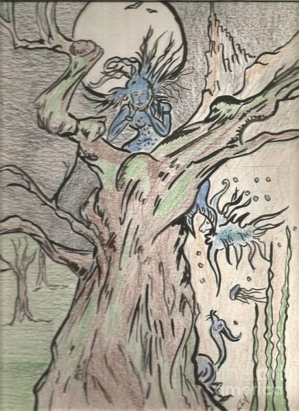 Sorcery Drawing - Magic  by Gabriel Coelho