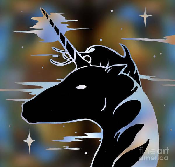 Unicorn Horn Digital Art - Magic Horn by Robert Ball