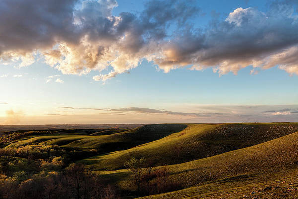 Magic Hour In The Flint Hills Art Print