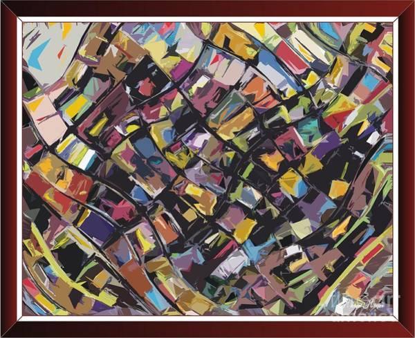 Bright Colours Mixed Media - Magic Kaleidoscope-1 by Michael Mirijan