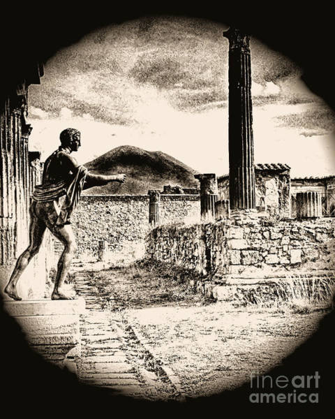 Magic Lantern Pompeii Art Print