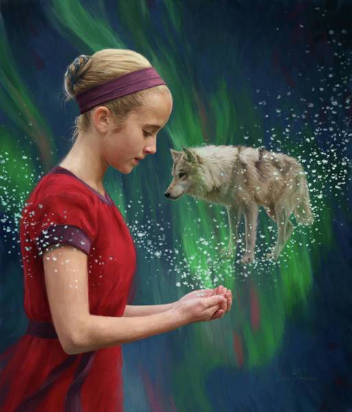 Painting - Magic by Lucie Bilodeau