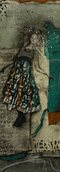 Wall Art - Mixed Media - Magic Moment by Laura  Lein-Svencner