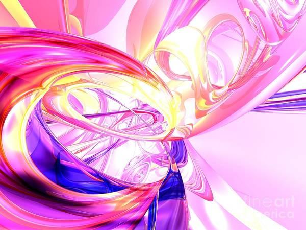 Wall Art - Digital Art - Magic Moments Abstract by Alexander Butler