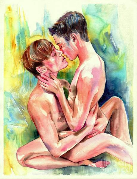 Sex Painting - Magic Moments by Suzann's Art