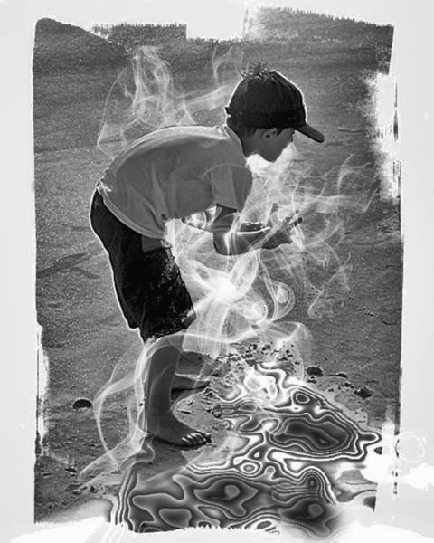 Magic Sand Art Print