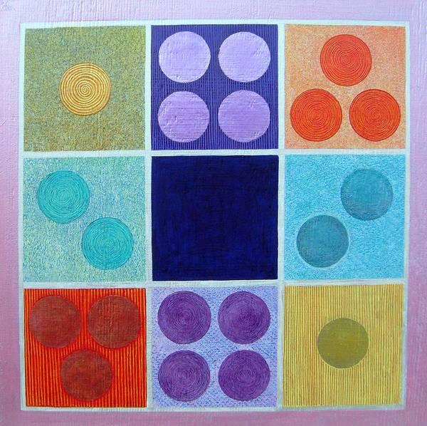 Wall Art - Painting - Magic Squares by Jennifer Baird