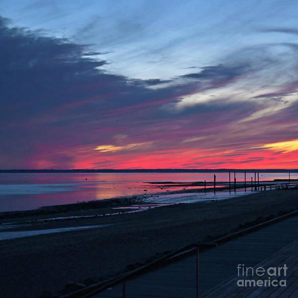 Photograph - Magic Summer Sunset On The West Coast Of Denmark by Silva Wischeropp