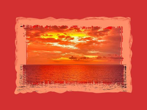 Photograph - Magical Caribbean Sunset 2 by John M Bailey