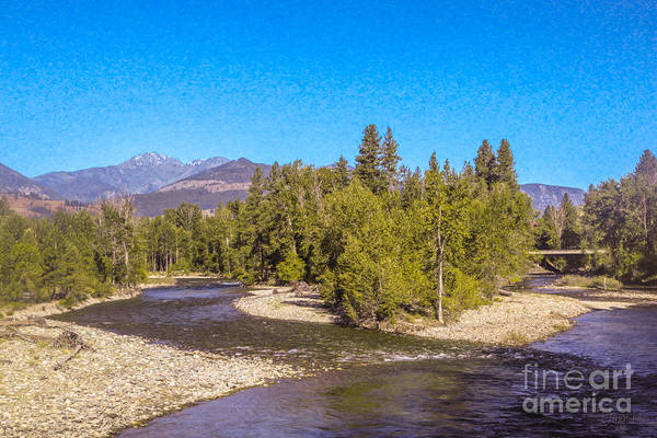 Photograph - Magical Intersections Methow Valley Landscapes By Omashte by Omaste Witkowski