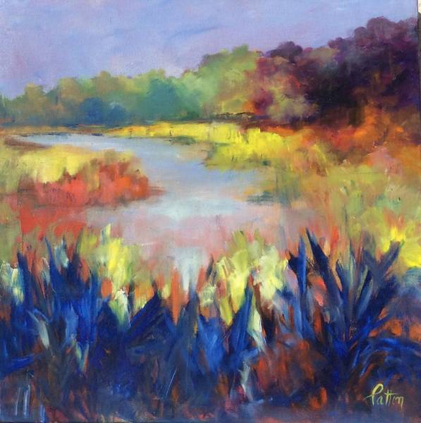 Painting - Magical Marsh by Karen Ann Patton