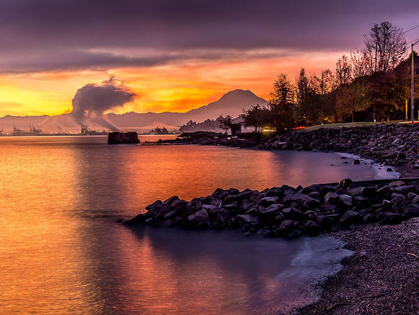 Photograph - Magical Sunrise On Commencement Bay by Rob Green