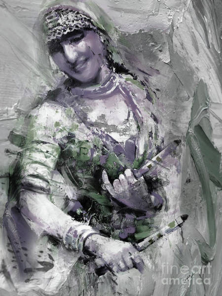 Belly Dancing Painting - Magical Woman Folk by Gull G