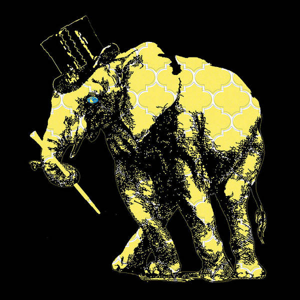 Wall Art - Digital Art - Magician Elephant by Brandi Fitzgerald