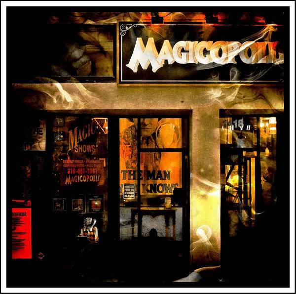 Photograph - Magicopolis Window by Michael Hope