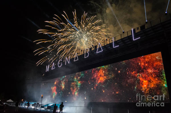 Grateful Dead Photograph - Magnaball Finale by Along The Trail