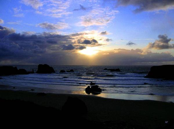 Whitecaps Photograph - Magnificent Bandon Sunset by Will Borden