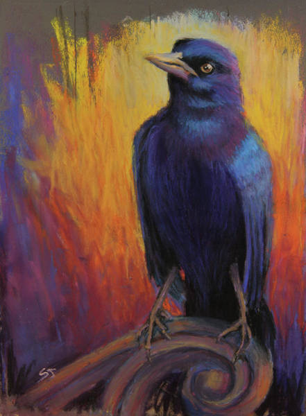 Painting - Magnificent Bird by Susan Jenkins