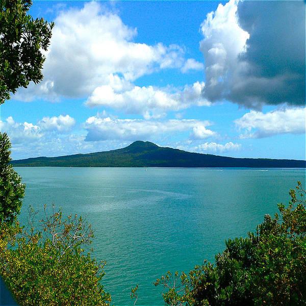Pohutukawa Photograph - Magnificent Hauraki Gulf Auckland by Clive Littin