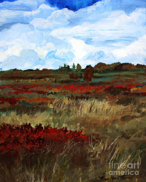 Painting - Magnificent Meadow by Robin Maria Pedrero