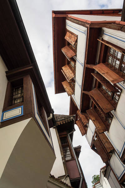 Photograph - Magnificent Revival Houses With Elegant Oriel Windows by Georgia Mizuleva