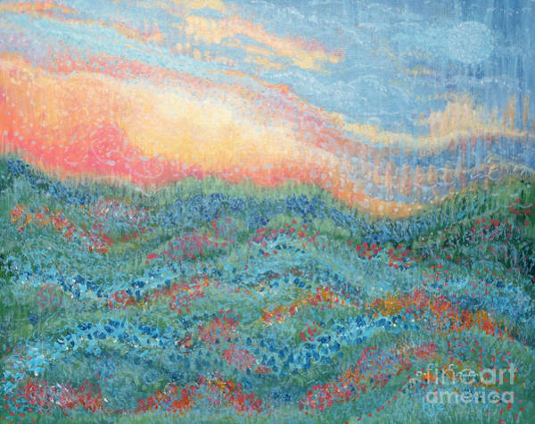 Painting - Magnificent Sunset by Holly Carmichael