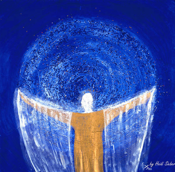 Painting - Magnitude Of Your Beauty - Awakening To New Worlds by Heidi Sieber