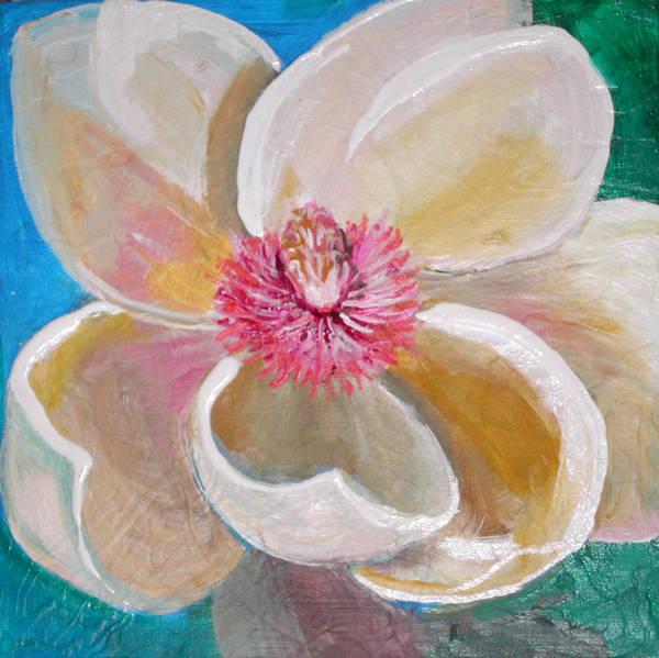 Painting - Magnolia Burst by Anne Cameron Cutri