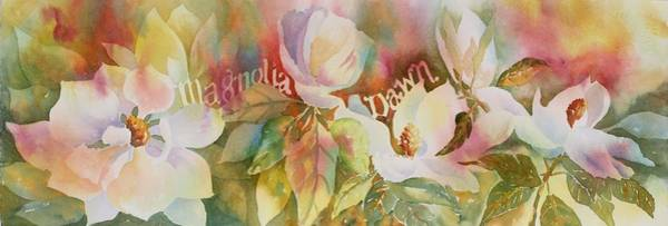 Painting - Magnolia Dawn by Tara Moorman