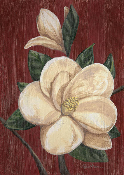 Painting - Magnolia II by April Moen