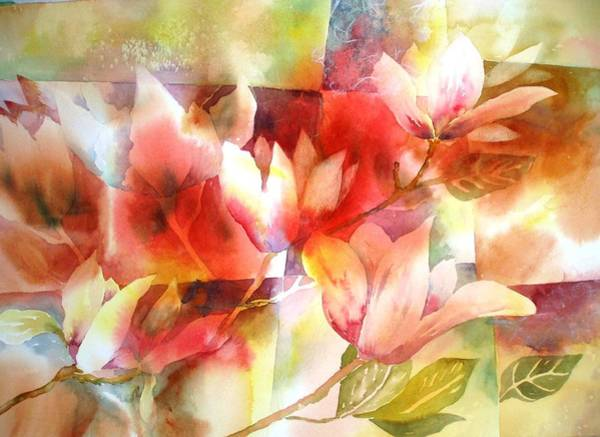 Painting - Magnolia Magic by Tara Moorman
