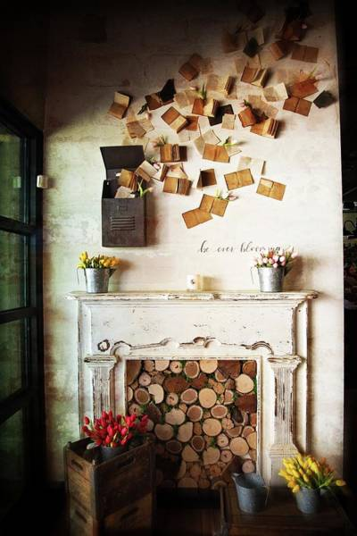 Photograph - Magnolia Market Welcome Wall by Lynn Bauer