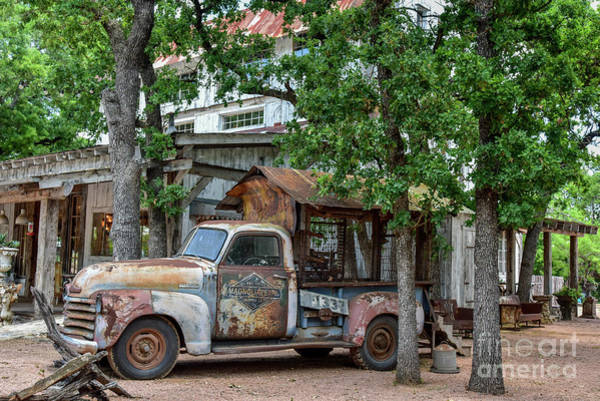 Wall Art - Photograph - Magnolia Pearl Chicken Coup And Barn by Paul Quinn