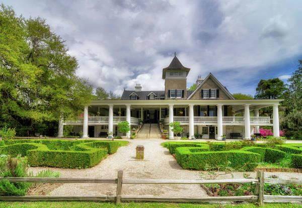 Wall Art - Photograph - Magnolia Plantation Home by Drew Castelhano