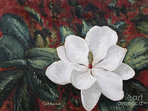 Painting - Magnolia by Todd Blanchard
