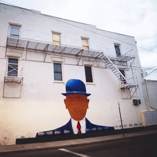 Photograph - Magritte In Beacon by Natasha Marco