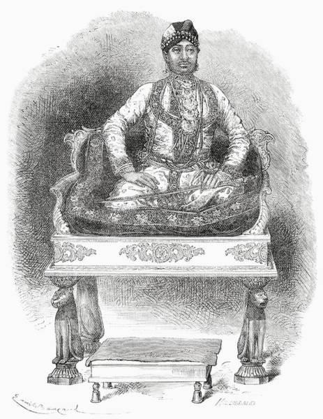 Singh Drawing - Maharana Shambhu Singh, 1847 To 1874 by Vintage Design Pics