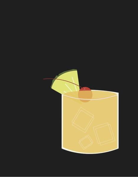 Drink Wall Art - Digital Art - Mai Tai  by Julia Garcia