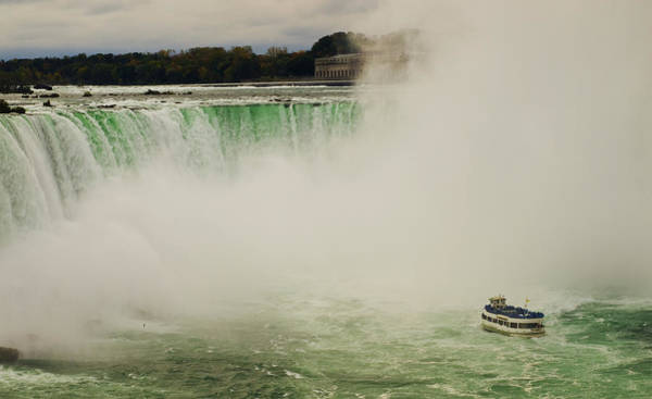 Photograph - Maid Of The Mist At Niagara Falls by Mary Capriole